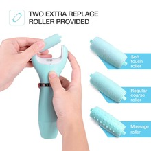 2018 New Professional Electric Powerful Dead Skin Foot File Battery Operated Callus Remover