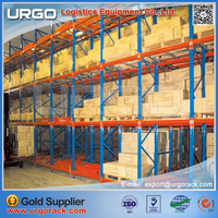 Chinese high quality industrial warehouse storage customized push back pallet racking from URGO storage rack