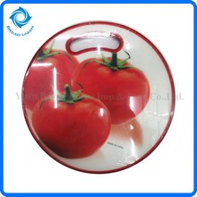Round Plastic Kitchen Chopping Board