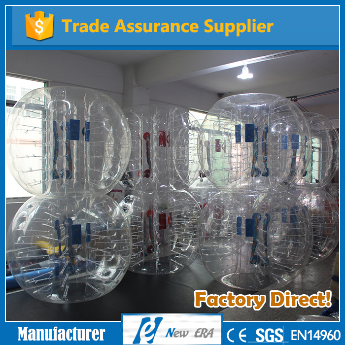 New Era supplier wholesale can be customized 1.2m/1.5m/1.8m inflatable bumper ball for adult and kids