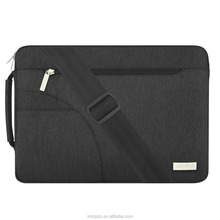 Mosiso Polyester Fabric Sleeve Case Cover Laptop Shoulder Briefcase Bag for 13-13.3 Inch Ultrabook Netbook Tablet