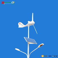 Hot sale! wind solar hybrid system street light(8M)
