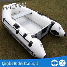 9.8ft 4 people light air deck inflatable yacht tender sport fishing boat