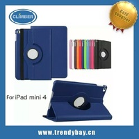 2015 New arrival 360 degree rotate for ipad mini 4 cover 360