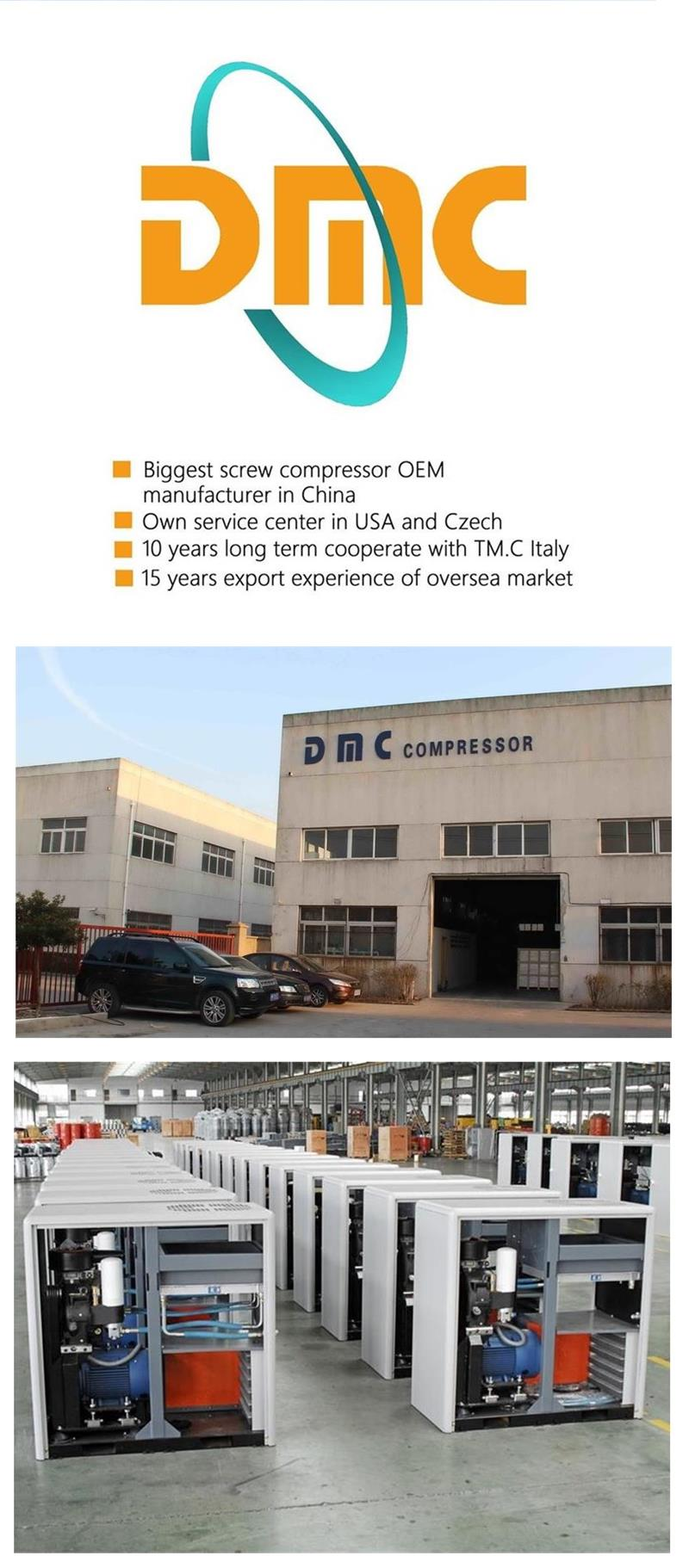 2018 The Best Quality Cost-effective Products Screw Air Compressor