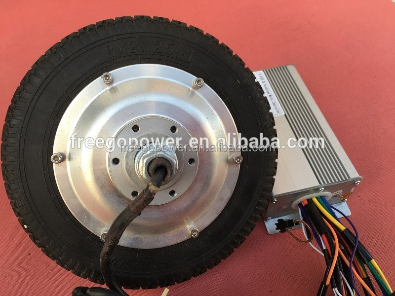 8 Inch Electric Wheel Hub Motor For Electric Bike Scooter