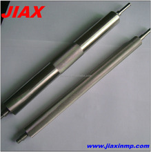 Good quality precision cnc machining knurled stainless steel rod