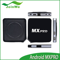 New Arrival MX Pro Android 4.4.2 Android TV Box Amlogic S805 A9 Quad Core 1G/8GB WIFI 1080P Smart TV Box Faster Than CS918