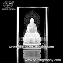 Shining laser engraved crystal gift items