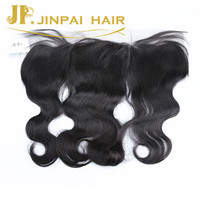 JP Hair Unprocessed 100% Brazilian Human Hair Frontal Lace Closures Ear to Ear