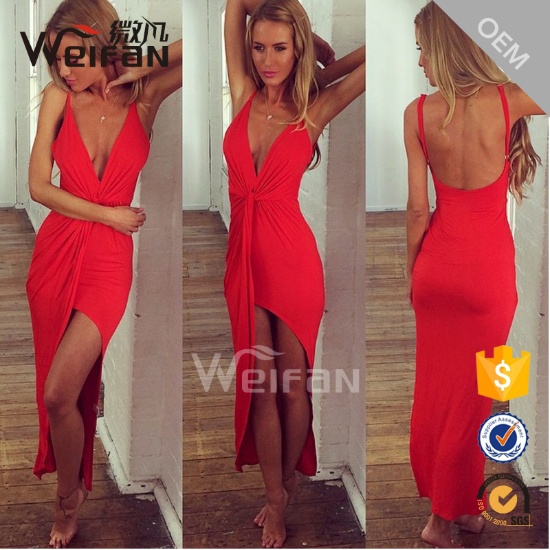 2016 Fashion gaon sexy party gambar sex dress