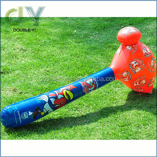 High Quality Cheap animal shape inflatable hammer toys