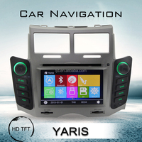 toyota yaris sedan car dvd player