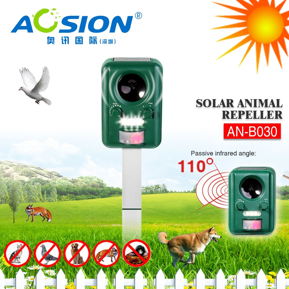 Aosion Patent ultrasonic pig repeller