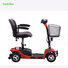 China Handicapped and Disabled People Four Wheel Electric Mobility Scooter For Old Man Travel