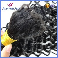 100% Vietnamese Human Hair Bulk extensionsCurly Cheap Wholesale Price Hair Bulk for Braiding