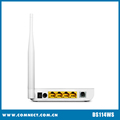 Hot selling High quality 4-Port 150Mbps Wireless N adsl modem with low price