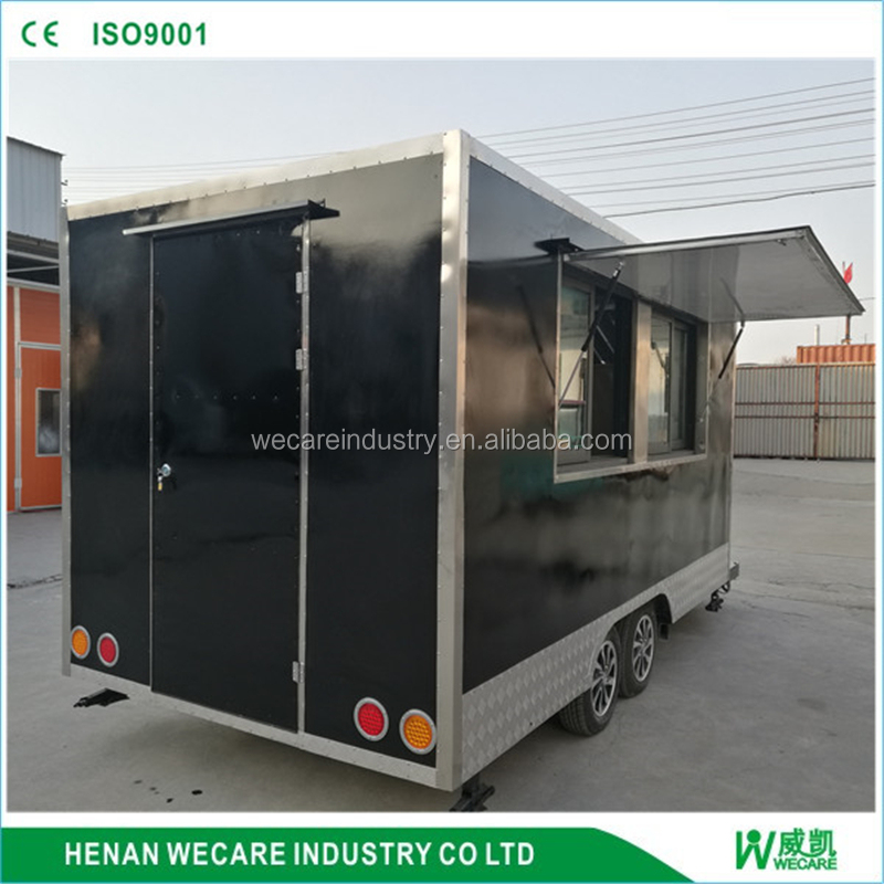 Mobile Kitchen Truck Food Van/sandwich trailer/Hamburger vending cart with promotion price
