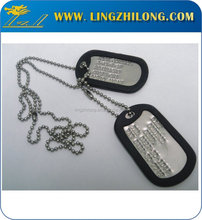 Hot custom cheap brass dog tags for people