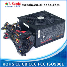 OEM available high quality 600w atx desktop 24pin power supply