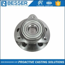 4Cr13 stainless steel Q235 cast iron 4140 steel metal casting and mass production nissan tiida wheel bearing hub factory