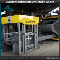 QFT10-15 industrial manual block making machine for sale
