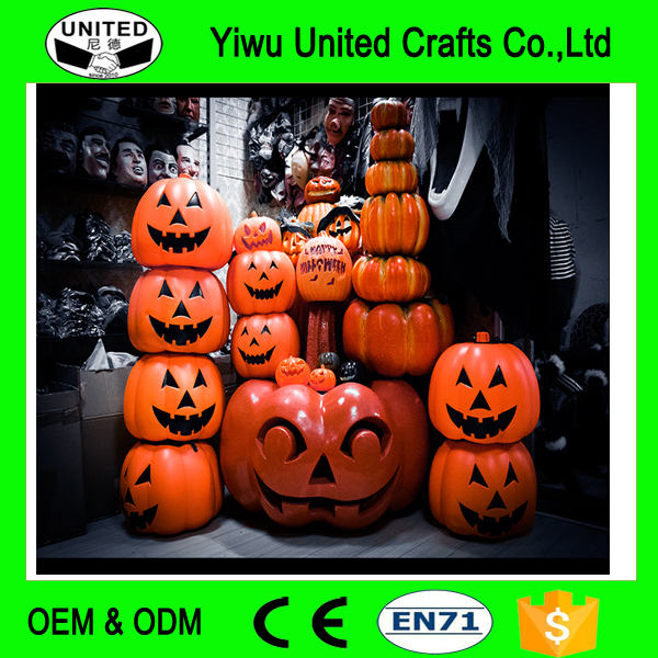 Halloween Decoration Lage Size Pumpkin Shopping Hall Amusement Park Outdoor Giant Pumpkin