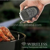 Wireless meat thermometer with LCD display for testing food temperature with factory price