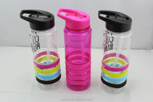 PCTG plastic water bottle 750ml materials imported from overseas