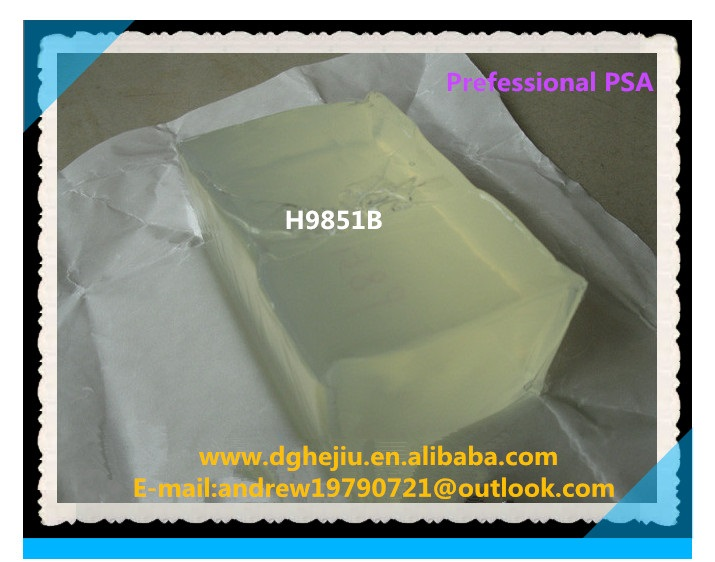 Wholesale medical adhesives glue block for protective pad,infusion bag