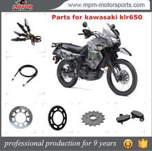 China Motorcycle Spare parts for kawasaki klr 650