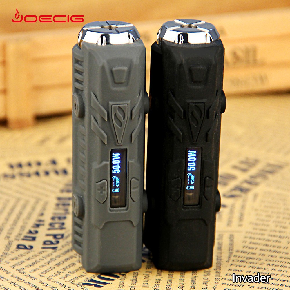 famous brand joecig Rechargeable box mod invader mini Heatvape Patent design