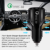 Ball Shape QC3.0 Dual Ports  3.1A Car Charger fast charger car charger for driving