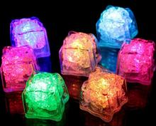 good quality The LED fluorescent block Colorful flash ice Flash induction lanterns