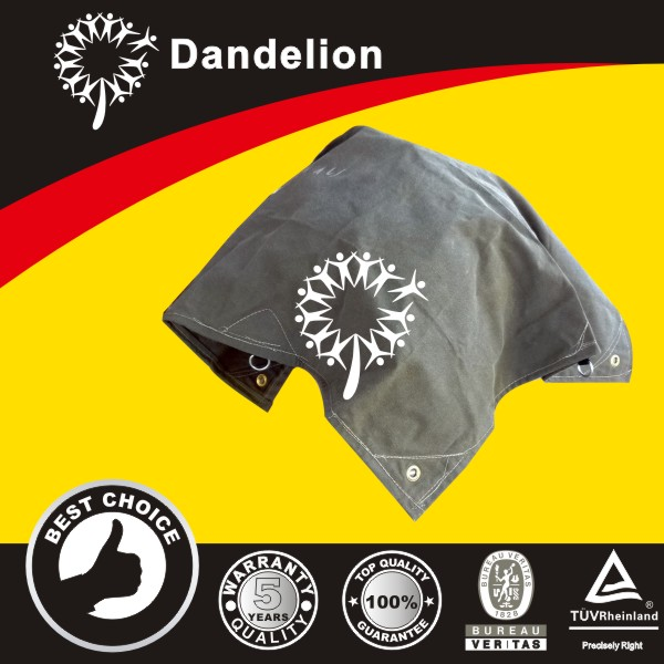 waterproof shrink resistant pvc coated dee ring canvas tarpaulin