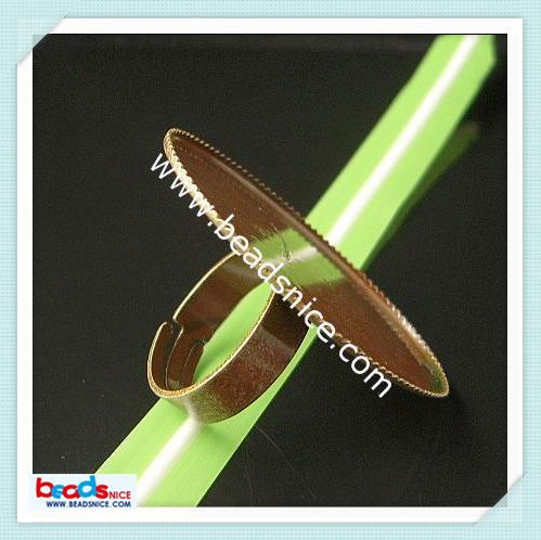 beadsnice Beadsnice ID 8360 Ring base size:7 lead-safe jewelry findings high quality o ring