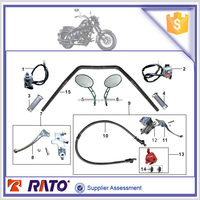 Motorcycle handle switches handle pipe handlebar grips