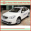 5 seats gasoline four wheel sedan (skd/ckd available for assembling in local)