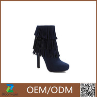 Lady shoes lady chelsea boot pu boot