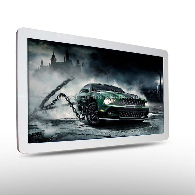 32 inch wall hanging 3g wifi full hd touch screen tft display panel