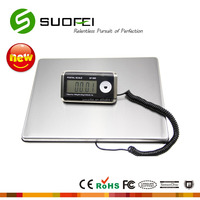 Stainless steel Plastic Electronic portable shipping scale manufacturer SF-889