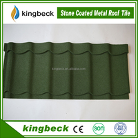 high quality africa stone metal roofing sheet colorful stone coated steel roof tile