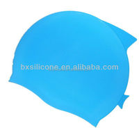 Fashion Crazy Selling any logo printing silicone swim cap