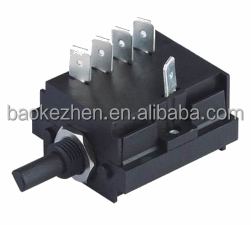 16A 250AC Rotary Switch for Oven toaster timer,coffee machine,Juicer