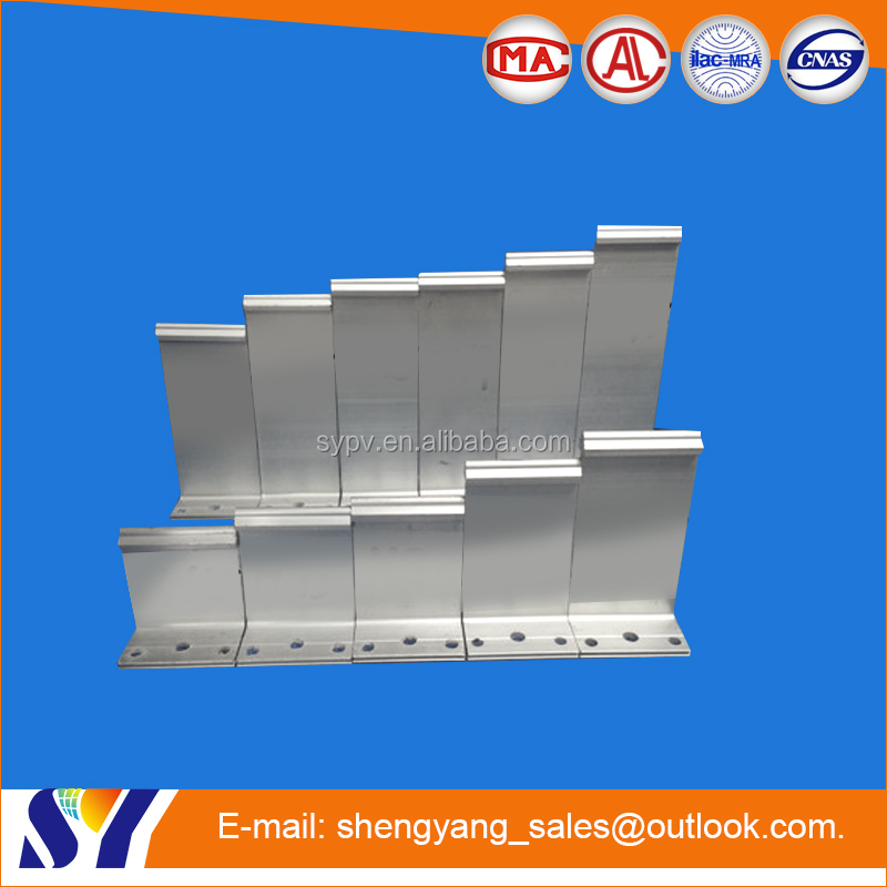 Durable and flexibility standing seam roof bracket steel construction t shape bracket