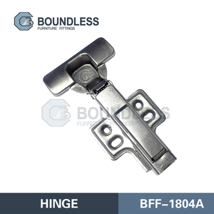 BOUNDLESS good quality clip on with big pump soft close hinges