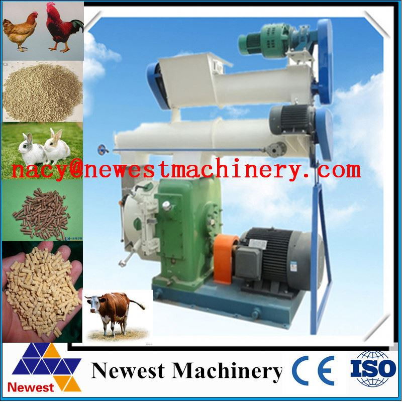 larger output energy saving feed pellet machine/automatic new animal feed pellet machine/miniature farm mini feed pellet machine