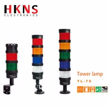 LED signal tower light , 70mm tower lamp with buzzer , indicator light with buzzer