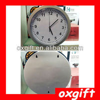 OXGIFT Wall Clock with Hidden Safe,Security Wall Clock Safe