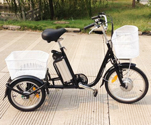 Quality Assurance new design tricycle motorized tricycles for adults green city three wheel electric bike